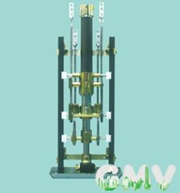 TCS、EC链条传动方式同步油缸